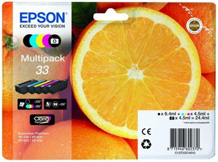 Epson Multipack 5-colours 33 Claria Premium (C13T33374010)