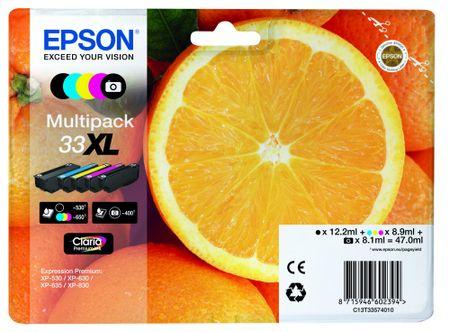 Epson Multipack 5-colours 33XL Claria Premium (C13T33574010)