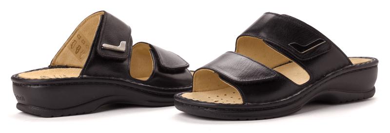 Scholl dámské pantofle New Mietta 37 černá