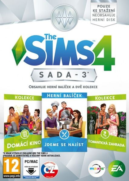 EA Games The Sims 4 Bundle Pack 3 / PC
