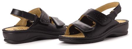 Scholl ženski sandali 41 črna