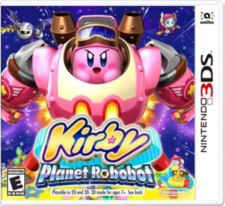 Nintendo 3DS Kirby: Planet Robobot