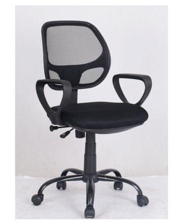 Pisarniški stol OC122, črn