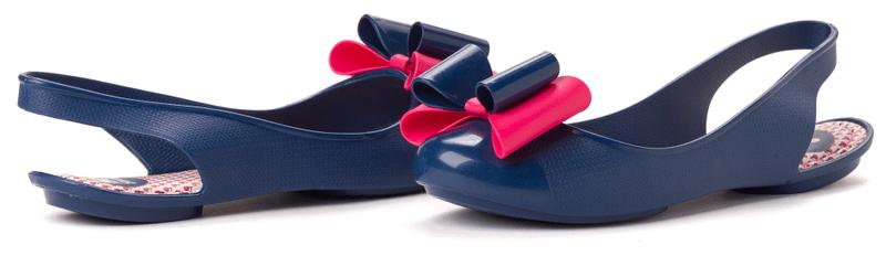 Zaxy dámské sandály Gift 35/36 tmavě modrá