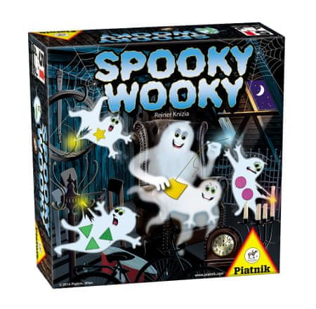 Piatnik družabna igra Spooky Wooky