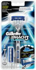 Gillette Mach3 Turbo Aloe holící strojek + 2 hlavice