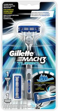 Gillette Mach3 Turbo Holiaci strojček + 2 hlavice - Alternatívy ... 23a2b6a5321