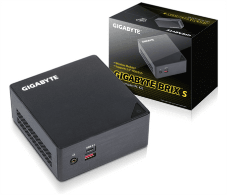 Gigabyte mini računalnik Brix i3-6100U Ultra Compact PC kit