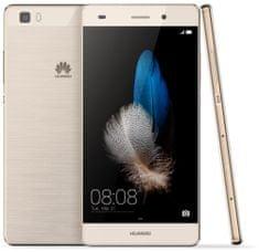 Huawei P8 Lite, zlatý