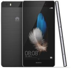 Huawei GSM teleon P8 Lite, črn