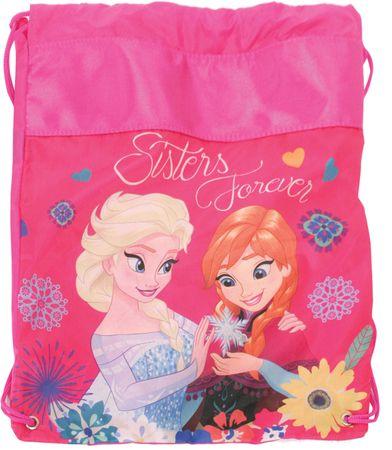 Frozen vrečka za copate, roza