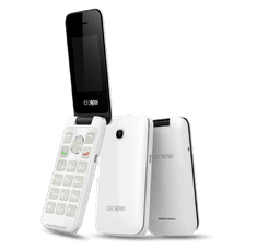 Alcatel 2051D, bílý