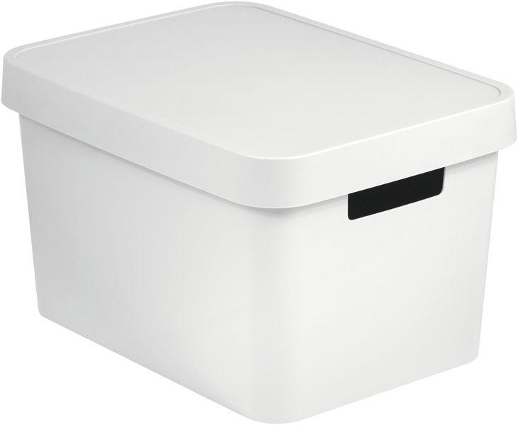 Curver Úložný box s víkem Infinity 17 l bílá