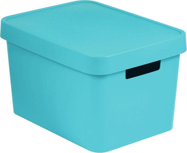 Curver Úložný box s víkem Infinity 17 l modrá