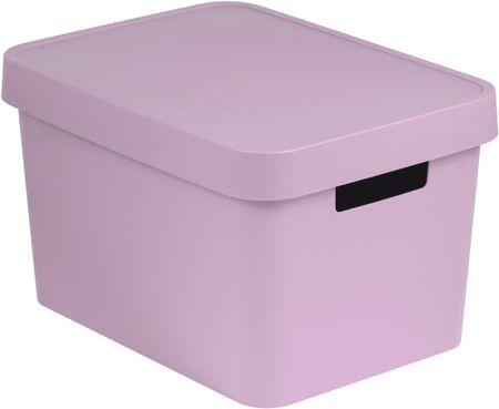 CURVER kutija za pohranu s poklopcem Infinity, 17 l, roza