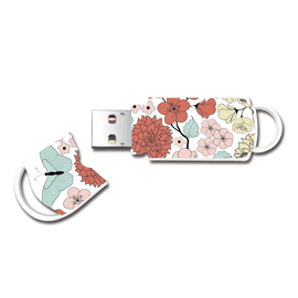 Integral USB ključ Expression 32 GB USB 2.0, butterfly