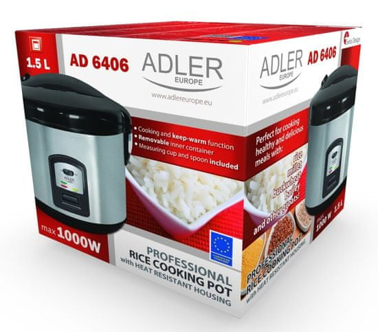 Adler ryżowar AD 6406
