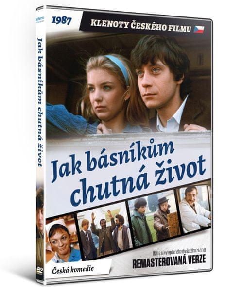 Jak básníkům chutná život - edice KLENOTY ČESKÉHO FILMU (remasterovaná verze) - DVD