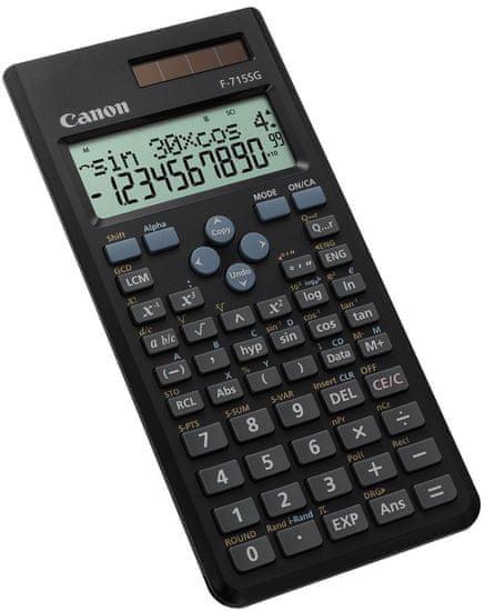 Canon kalkulator F-715SG (5730B001AB), črn