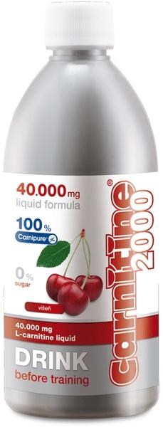 Wellness Food Carnitine 2000 500 ml višeň