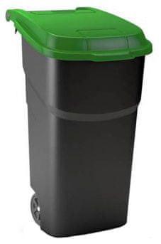 Rotho zabojnik za odpadke Atlas, 100 l, zelen