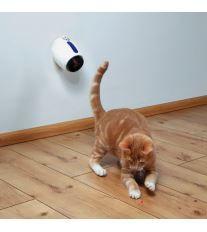 Trixie Laserová hračka pro kočky 11cm bílo modrá