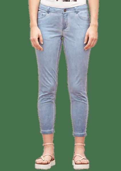 s.Oliver dámské kalhoty 40 modrá