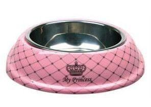 Trixie My Princess Etetőtál, 0,6l, 20cm