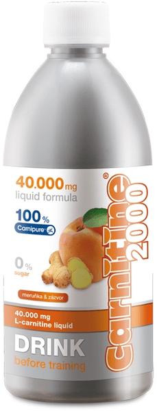 Wellness Food Carnitine 2000 500 ml meruňka-zázvor