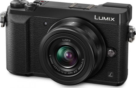 Panasonic digitalni fotoaparat Lumix DMC-GX80 + 12-32 mm, črn