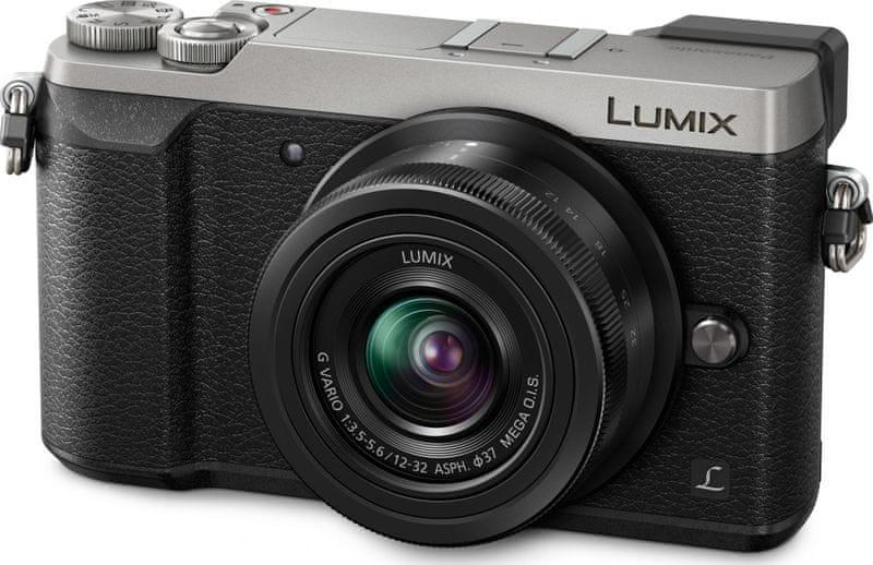 Panasonic Lumix DMC-GX80 + 12-32 mm Silver (DMC-GX80KEGS)