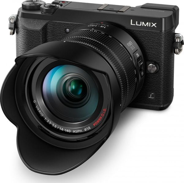 Panasonic Lumix DMC-GX80 Black + 14-140 mm (DMC-GX80HEGK)