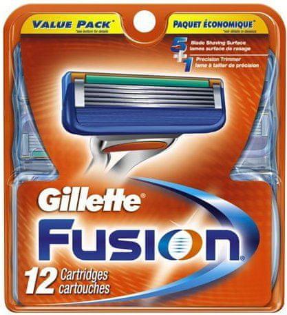 Gillette Fusion náhradní hlavice 12ks