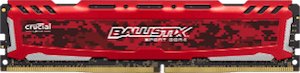 Crucial pomnilnik DDR4 8 GB Crucial BX Sport LT