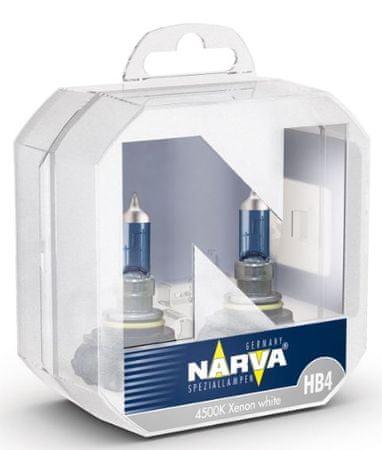 Narva par žarnic 12V-HB4-60W Range Power White