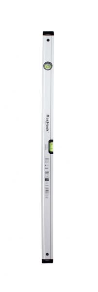 J.A.D. TOOLS vodováha MacHook PRO 100 cm, 2 libely, anodizovaný povrch, řada PROFI S600