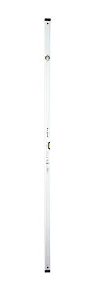 J.A.D. TOOLS vodováha MacHook PRO 200 cm, 2 libely, anodizovaný povrch, řada PROFI S600