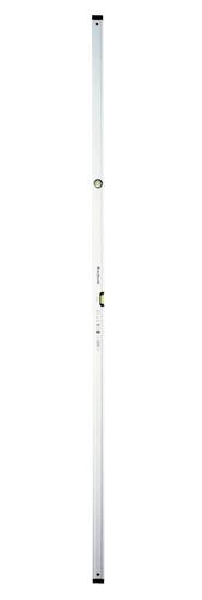 J.A.D. TOOLS vodováha MacHook PRO 250 cm, 2 libely, anodizovaný povrch, řada PROFI S600