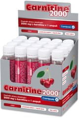 Wellness Food Carnitine 2000, 20 x 25 ml Višeň