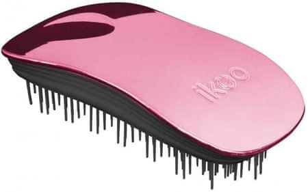 Ikoo Home Metallic Kefa na vlasy Pink/black