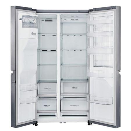 LG GSJ760PZUZ Amerikai hűtőszekrény, 601 l