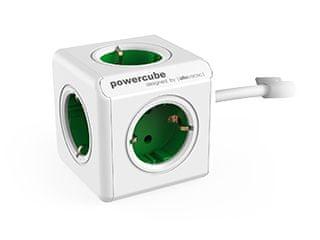 PowerCube električni razdjelnik Extended, zelena