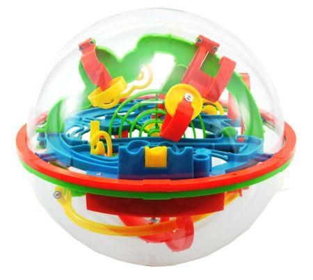 Teddies Hlavolam Bludiště 3D koule 20cm
