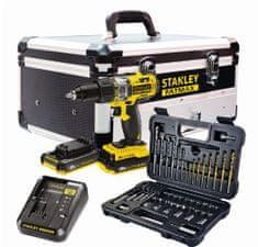 Stanley akumulatorski udarni vrtalnik/vijačnik FMC625 + baterija, polnilec in kovček
