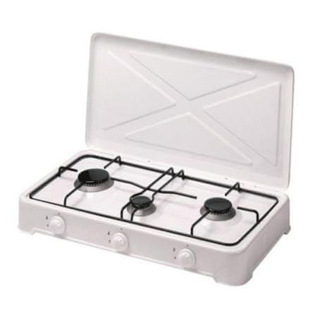 Melchioni trojni plinski plinski kuhalnik brez varnostnih ventilov