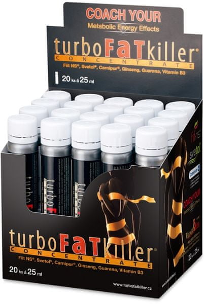 Wellness Food Turbo Fat Killer 20x 25 ml