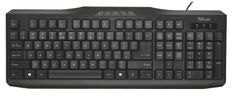 Trust klawiatura Classicline Multimedia keyboard	(20596)