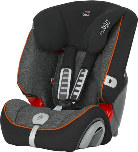 Britax EVOLVA 123 PLUS 2017, Black Marble