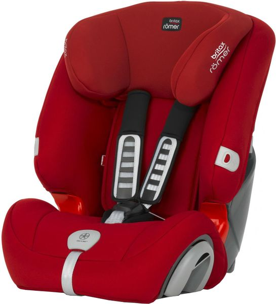 Britax EVOLVA 123 PLUS 2017, Flame Red
