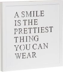 Time Life Dekoračná doska Smile s podsvietením